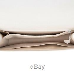 Hermès Constance 23 en veau grainé blanc, accastillage doré, superbe état