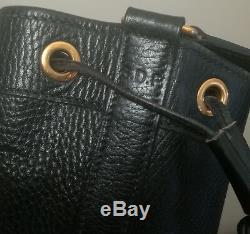 Hermès Sac Market Bandouliere Reglable En Cuir Noir
