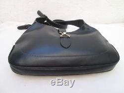 Jackie GUCCI authentique sac à main en CUIR vintage bag /