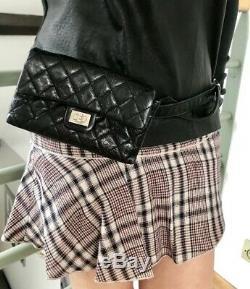 Joli Pochette Cuir Ceinture Chanel Uniform