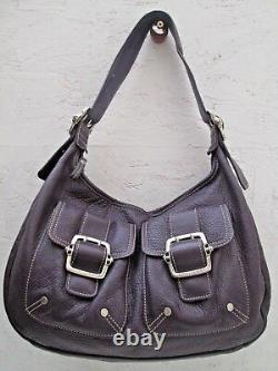 Joli authentique sac à main LONGCHAMP en cuir grainé bag à saisir
