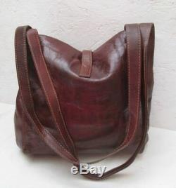 Joli sac à main THE BRIDGE cuir vintage bag
