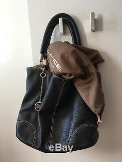 LANCEL Superbe sac cuir noir French Flair