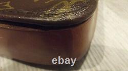 LOUIS VUITTON Monogramme Épaule Sac à MAIN Cartouchière Leather Handbag