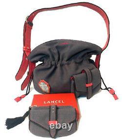 Lancel sac à main 1er Flirt en tissu