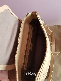 Lancel sac cuir beige ligne Josephine