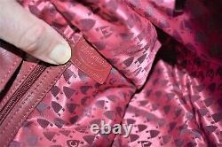 Longchamp, Sac à main BALZANE PM, en cuir bordeaux
