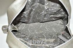 Longchamp, Sac à main COSMOS MM, en cuir argenté