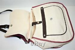 Longchamp, Sac à main / bandoulière BALZANE, en toile et cuir