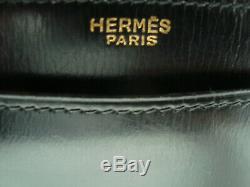 Lot exceptionnel de deux sacs et une valise Hermès en cuir