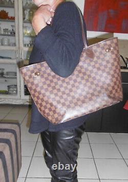 Louis Vuitton Sac À Main Femme Modele Damiers Neverfull Boite Origine