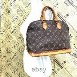 Louis Vuitton Sacs à Main Alma Monogramme M51130 De Japon #DU11-387