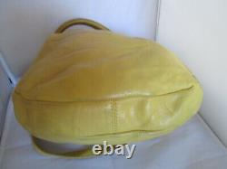 MARC by MARC JACOBS cuir sac à main jaune vintage bag