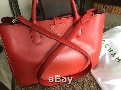 Longchamp Bag valore 750 Magnifico Heritage Roseau Nuovo 8anUFOqF