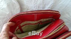 Magnifique sac LANCEL ADJANI rouge