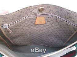 -Magnifique sac à main GUCCI cuir/autres BEG bag vintage 60's