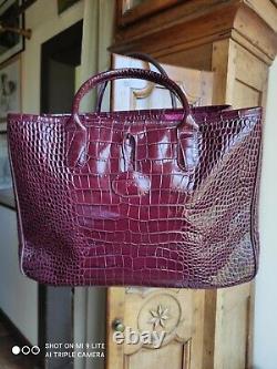 Magnifique sac à mains Longchamp modèle roseau NEUF