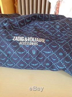 Magnifique sac en cuir noir Zadig et Voltaire