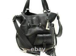 Neuf Sac A Main Lancel Premier Flirt MM A10110 Bandouliere Cuir Hand Bag 695