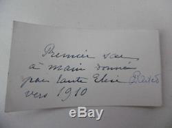 PETIT SAC A MAIN ANCIEN D'ENFANT EN CROUTE DE CUIR NOIR VERS 1910 Long 16 cm