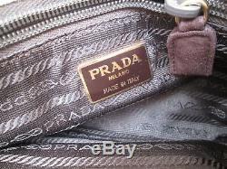 PRADA authentique sac à main cuir vintage bag