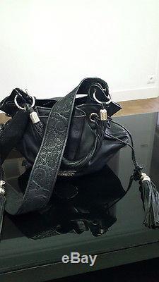 472f51fe7c Rare Sac LANCEL Brigitte Bardot tout cuir noir edi limité