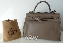 SAC HERMES KELLY FLAT (birkin bag, tasche, borsa)