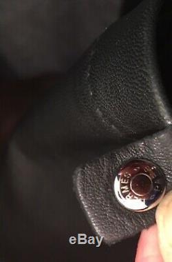 SAC HERMES modèle CLOU DE SELLE cuir noir BANDOULIÈRE parfait état + BOITE