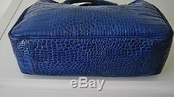 Sac Longchamp Roseau Cuir Croco Avec Son Porte Monnaie
