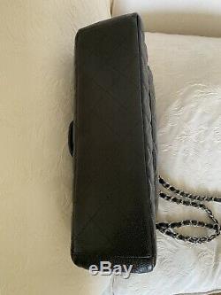 Sac A Main Chanel Grand Timeless Bandouliere Cuir Caviar Jumbo Bag