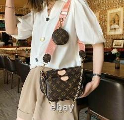 Sac A Main Cuir Femme Mini 3 en 1 Bandouliere Createur Luxe