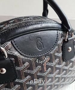 Sac À Main Goyard Jeanne Pm + Facture + Dust / Black Goyard Jeanne Pm Hand Bag