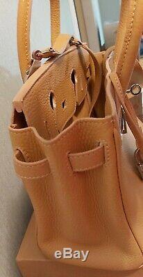 Sac A Main Hermès Birkin 25 Cuir Beige