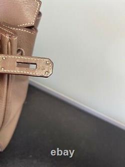 Sac A Main Hermes Birkin 35cm Etoupe, Authentique, Photos, Facture, Achete Monaco