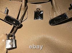 Sac A Main Hermes Birkin Beige 35cm Tres Bon Etat, Neuf 9000euros