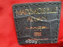 Sac A Main Lancel, Mademoiselle Adjani, Occasion Comme Neuf, Couleur Noir