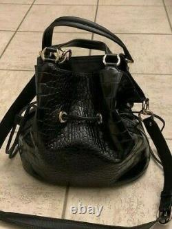 Sac A Main Lancel Premier Flirt MM A10110 Bandouliere En Cuir Noir Hand Bag 695