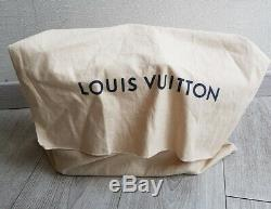 Sac A Main Louis Vuitton Alma En Cuir Épi Creme + Dust Bag / Bon Etat