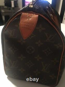 Sac A Main Louis Vuitton Speedy 25cm Monogram Authentique