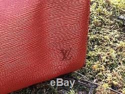 Sac A Main Louis Vuitton Speedy 35/40 Cuir Epi Marron Brown Leather Hand Bag