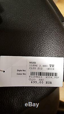 Sac CLIO GOLDBRENNER modèle Star Clio Sac à main en cuir Noir neuf