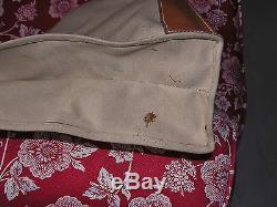 Sac CabasCabas/Shopping/tote HERMES en toile et cuir canvas leatherTBE