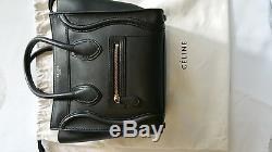 Sac Celine Micro Luggage black mat NEUF