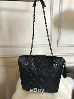 Sac Chanel Authentique Tote Bag Vintage