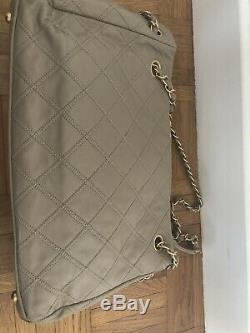 Sac Chanel Taupe en cuir square