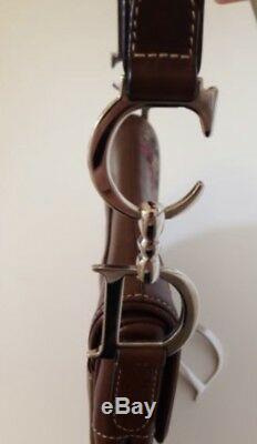 Sac Dior Saddle Cuir De Veau Marron