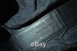 Sac Givenchy cuir noir pompons franges