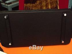 Sac HERMES Birkin palladium Togo 35cm excellent état