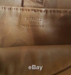 Sac HERMÈS CLOU DE SELLE / HAND BAG HERMÈS LEATHER / HERMÈS BANDOULIERE + BOITE