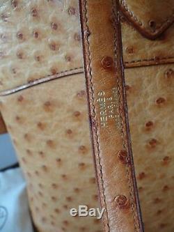 Sac Hermès Bolide Autruche bag 35cm